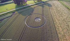 Aparece Crop Circle en Países Bajos 4 de julio 2016, la Constelación de las Pleyades. - extranotix