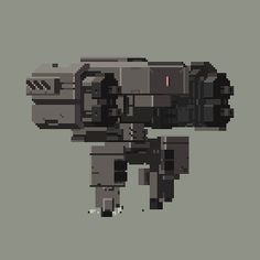 IndieGames.com Behold the first steps of Irkalla's stunning pixel art mechs