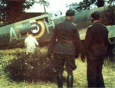 Captured Spitfire