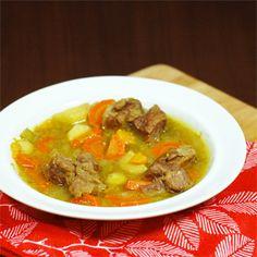 Easy beef stew crock pot recipe
