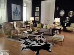 Room created for LaZBoy Design Dash Challenge.