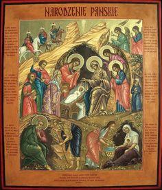 Nativity Painting, Biblical Art, Religious Icons, Holy Family, Orthodox Icons, Christmas Art, Faith, Christian, Nativity