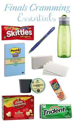 The Sticky Note Addict: Finals Cramming Essentials
