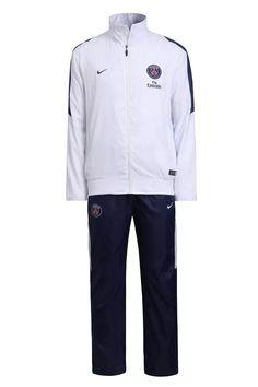 Coupe Vent PSG Blanc 2016