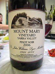 Mount Mary Quintet 2006, Lilydale, Victoria