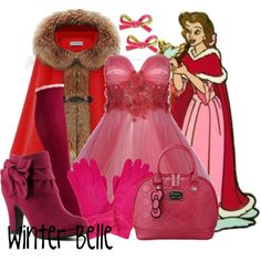 Disney Style- Beauty and the Beast Princess Inspired Outfits, Disney Princess Outfits, Cute Disney Outfits, Disney Inspired Fashion, Disney Bound Outfits, Disney Dresses, Girl Outfits, Cute Outfits, Fashion Outfits