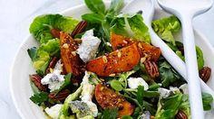 Näin upea salaatti syntyy helposti ihan peruskeittotaidoilla.