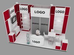 Modular Stand Sample - 5 Pop Design, Display Design, Partition Design, Exhibition Booth Design, Modular Design, Shop Plans, Stalls, Business Design, Inspiration