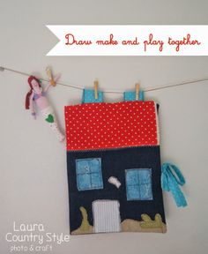 Country style: Handmade kids: draw, make and play together