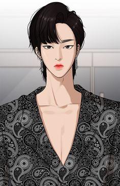 Webtoon Webtoon Wallpaper (TSOA) The Secret of Angel<br> Lookism Webtoon, Webtoon Comics, Suho, Ideal Boyfriend, Handsome Anime Guys, Boy Art, Psychedelic Art, Anime Outfits, Cute Faces