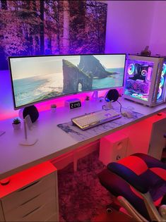 Build A PC 418060777912289931 - My battlestation with pc components repost Source by bestgamesetups Gaming Desk Setup, Computer Gaming Room, Best Gaming Setup, Gamer Setup, Pc Setup, Gaming Rooms, Gaming Chair, Gamer Room, Pc Gamer