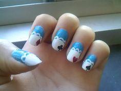 More Alice in Wonderland Nails