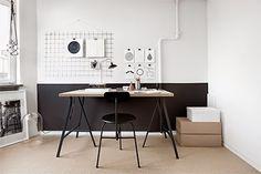 Um apartamento - três modos de decorar
