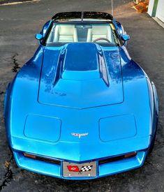 C3 Corvette #Chevy #Corvette Corvette Summer, Chevrolet Corvette Stingray, Us Cars, Sport Cars, Detroit Cars, Classic Corvette, Pontiac, Chevy Muscle Cars, Ford Gt