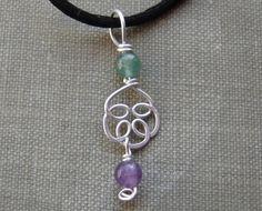 Sterling Silver Celtic Knot Pendant Necklace  by nicholasandfelice, $14.50