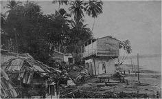 A neighborhood in Aguadilla, Puerto Rico, following an earthquake and tsunami in 1918.