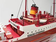 shipwreck model edmund fitzgerald - Yahoo Image Search Results