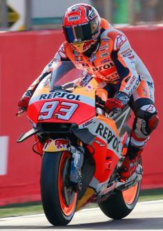 Marc Marquez #93 GP Valencia