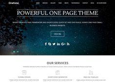 Onetone-Best Free One page WordPress Themes