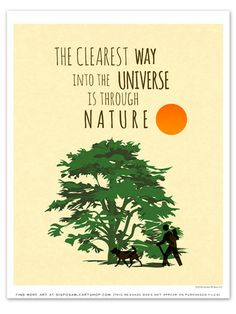 "Free Printable Art of the Week (4/16/14 - 4/23/14): ""Nature"""