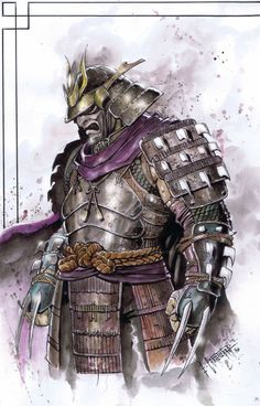 Shredder Samurai by emilcabaltierra on @DeviantArt