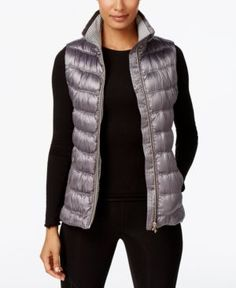 Calvin Klein Performance Puffer Vest - Gray S