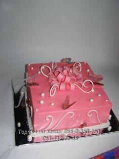 Детские торты на заказ Днепропетровск, торт на день рождения ребёнка, торт для детского праздника – Подарок для девочки