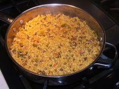 Arroz Con Gandules (Authentic spanish rice)