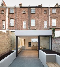 Basement extension by Architects London House Extension Design, Extension Designs, Extension Ideas, Victorian Terrace, Victorian Homes, Residential Architecture, Architecture Design, English Architecture, Home Design