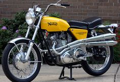 "1970 Norton Commando 750 ""S"" by Jason Means, via Flickr"
