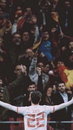 ◈ Pinterest : Ngọc Hoàng Đại Đế ✨ Isco Real Madrid, Real Madrid Team, Real Madrid Wallpapers, Isco Alarcon, Football Is Life, Football Wallpaper, Art Poses, Neymar, Football Players