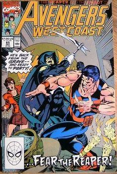 Marvel Comics Avengers West Coast #65 DECEMBER 1990