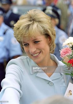 The Princess Of Wales Visits Chicago.Visit To The Cook County Hospital.