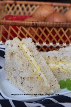 Vivian Pang Kitchen: Egg Sandwich /鸡蛋三明治