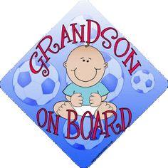 My grandson - my hero