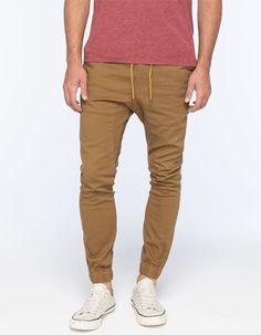 Lira Weekend Mens Jogger Pants Khaki  In Sizes