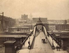 Swing Bridge Newcastle upon Tyne, 1889