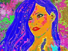 Rihanna Pop Art :SaundraMylesart
