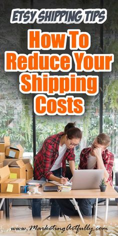These Etsy shipping tips are good if you are trying to reduce shipping costs and find a cheaper way to ship from your Etsy store. Whether you are shipping heavy or light, far or near, these ideas can help reduce your shipping prices and increase your prof Craft Business, Business Tips, Online Business, Business Planning, Starting An Etsy Business, Etsy Seo, Marketing Articles, Marketing Strategies, Affiliate Marketing