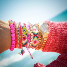Stacked arm candy