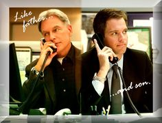 Ncis Gibbs And Tony | Tony and Gibbs,father and son-NCIS photo Like_father_and_son_by_Danisa ...