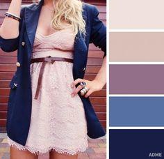 12 идеальных цветовых сочетаний в одежде для весны — Модно / Nemodno