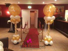Gouden Bruiloft deco. Door Biba Entertainment. www.bibaentertainment.nl