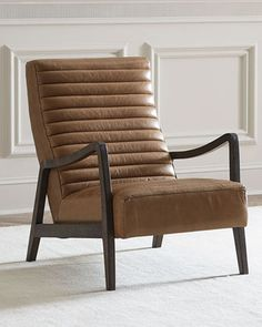 Aston Leather Chair at Neiman Marcus.