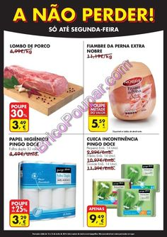 Novo Folheto Pingo Doce - A não perder até segunda-feira - de 12 a 16 de junho