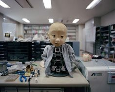 "Juxtapoz Magazine - ""What about the Heart?"" Photos of the Japanese Robotics Industry"