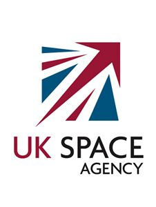 UK Space Agency, using of the Union Jack with an arrow pointing to space - a clever UK Logo. Uk Logo, Space Matters, Space Tourism, Space Projects, Flag Logo, Logo Design, Graphic Design, Space Program, Space Exploration