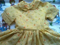 Girls Garden Dress 5/6 by lishyloo on Etsy, $16.00