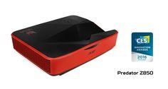Acer lança projetor para Jogos Acer Predator Z850