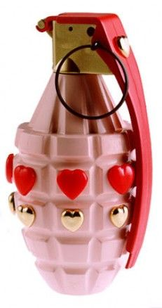 Love is a wretched thing.  Grenade by Riello.